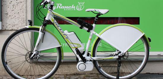 TÜV Nord – E-bike branding