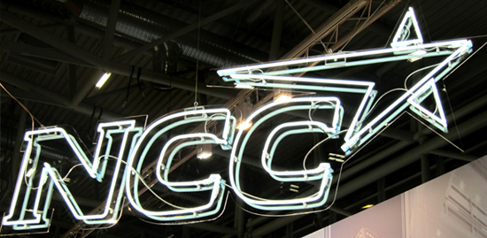 NCC – neon illuminated advertising